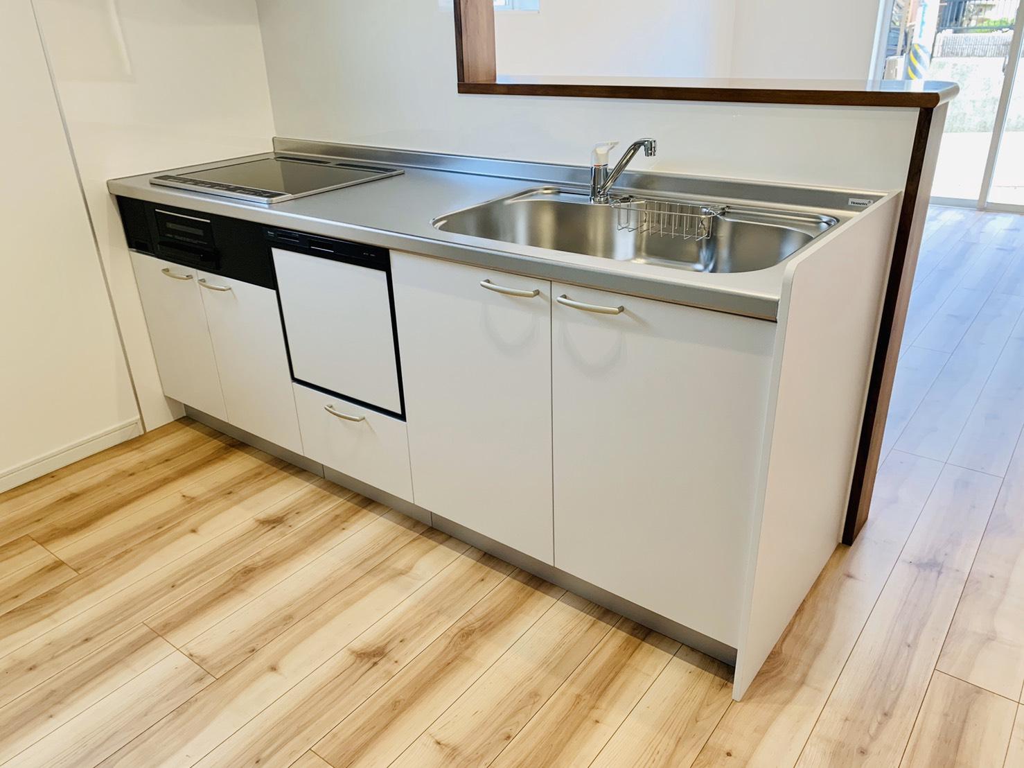うれしい食洗器付きのキッチン