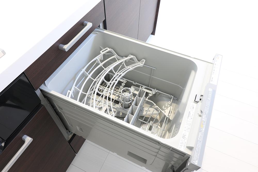 乾燥機能付き食洗器で洗い物が楽に♪