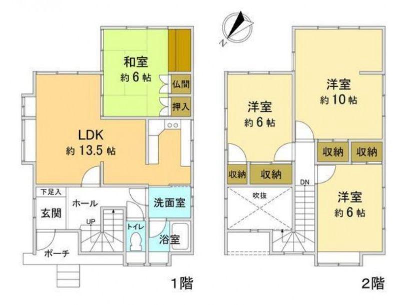 富山市山室荒屋  1800万円